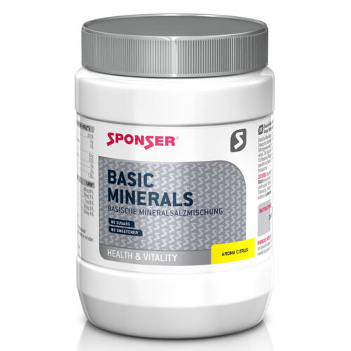 Sponser Basic Minerals ásványi anyagok, 400g