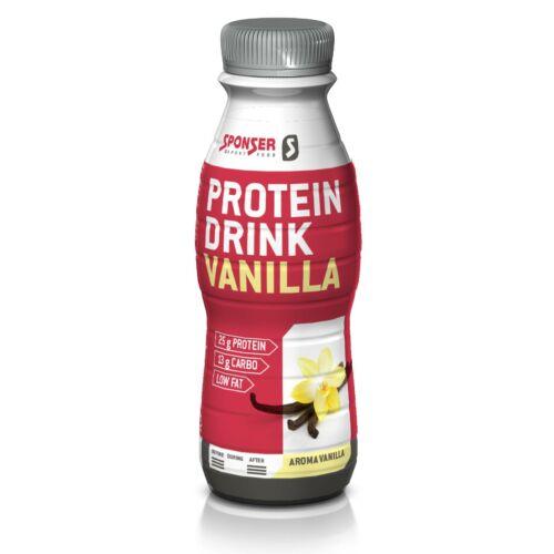 Sponser Protein Drink fehérje ital 330ml, Vanília