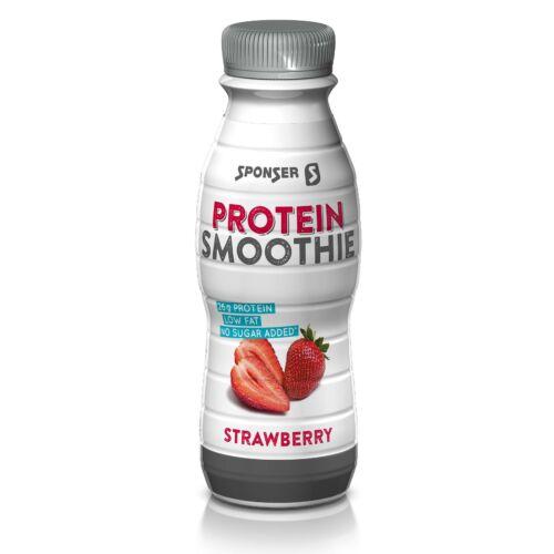 Sponser Protein Smoothie  fehérje ital - Eper (330ml)