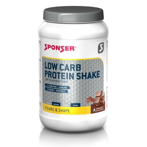 Sponser Protein Shake Low Carb fehérje ital, 550g