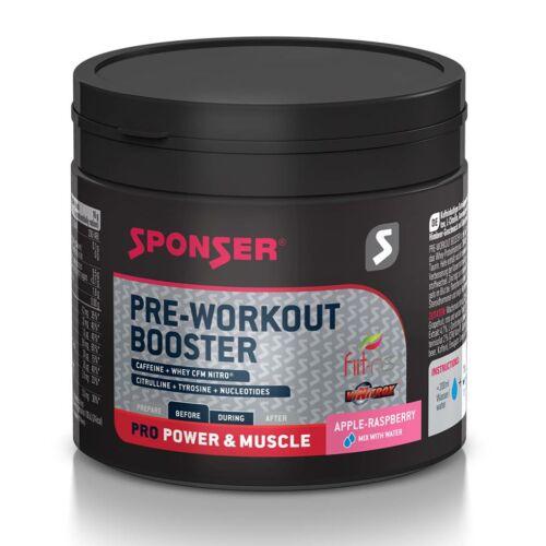 Sponser Pre-Workout Booster energizáló, 256g