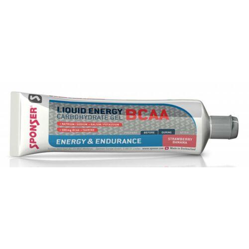 Sponser Liquid Energy BCAA energia gél, 70g