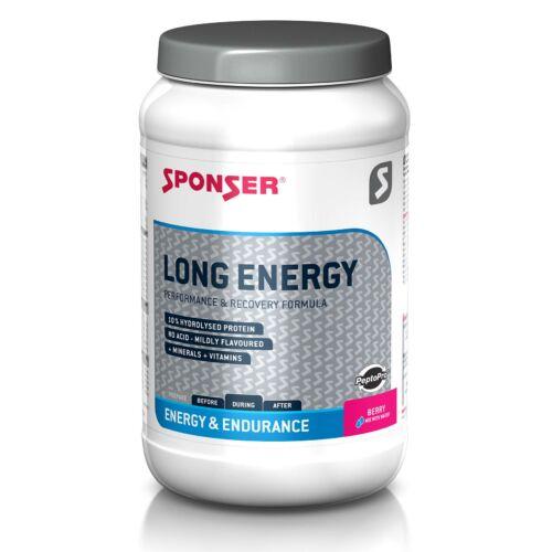 Sponser Long Energy sportital 10% fehérjével 1200g, Erdei gyümölcs