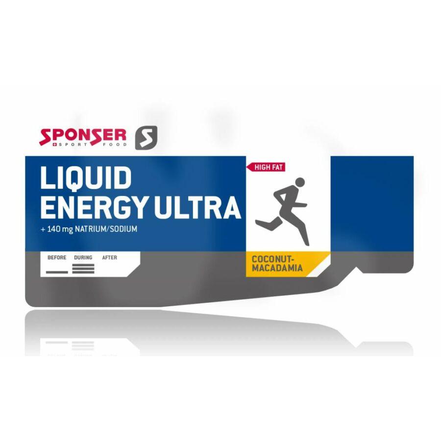 Sponser Liquid Energy Ultra energia zselé