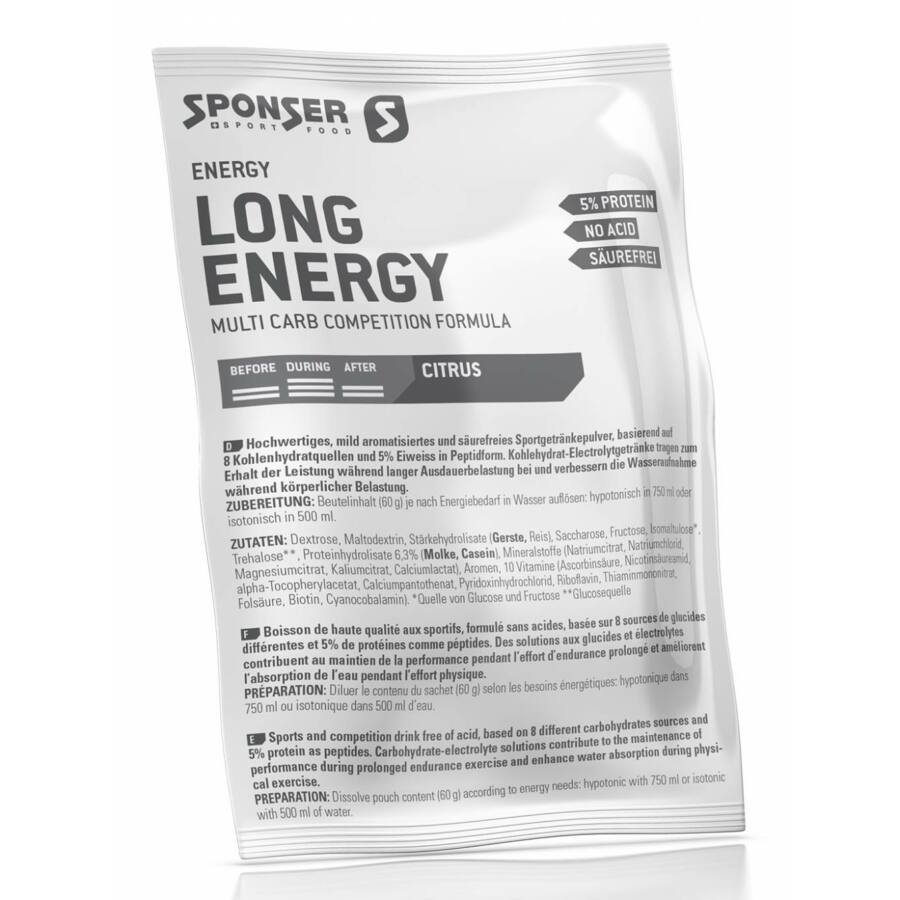 Sponser Long Energy sportital